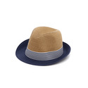 Paper Stripe Fedora Hat