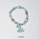 Beads Tassel Stretch Bracelet