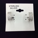 Sterling Silver Huggie Earring