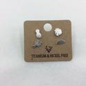 Two Earring Set