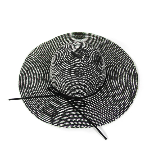 Striped Floppy Hat