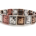 Texture Metal Bracelet
