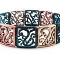 Geometric Metal Bracelet