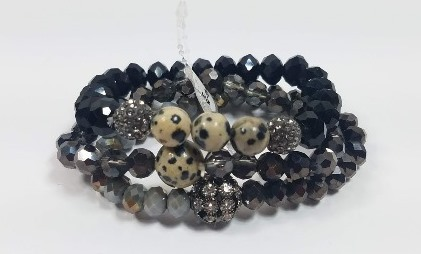Crystal Beads Stretch Bracelet