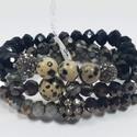 Crystal Beads Stretch Bracelet