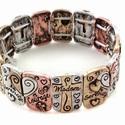 Inspirational Cross Bracelet