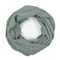 Solid Boucle Infinity Scarf