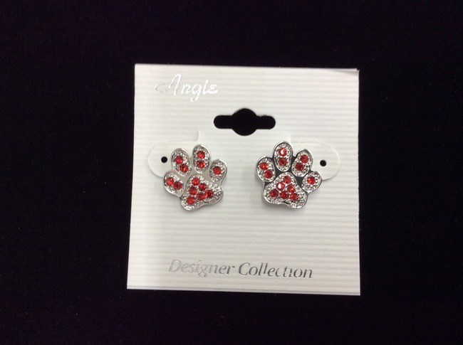 Dog Paw Earring