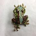 Frog Brooch