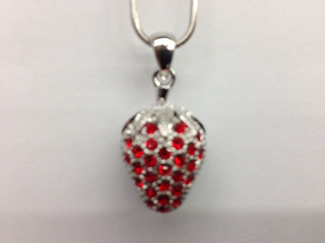 Strawberry Pendant