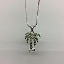 Palm Tree Pendant