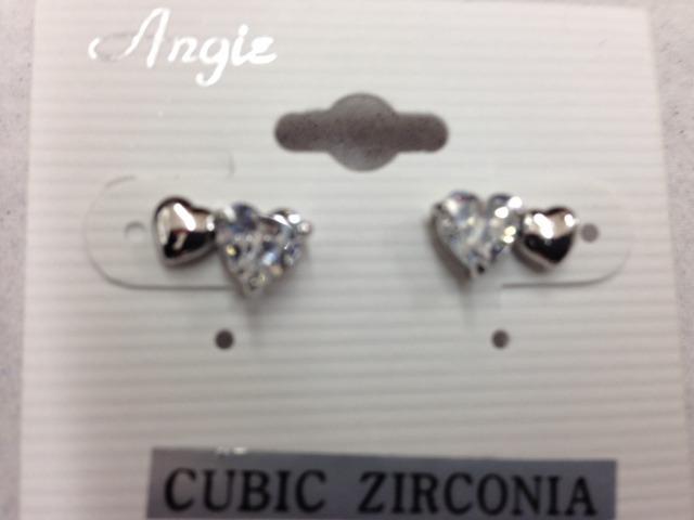 Ziconia Heart Earring
