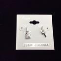 Lock & Key Earring