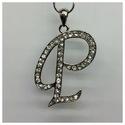 Alphabet Letter Pendant (L) P-Z