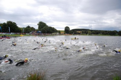 Triathlon Start - open water swim