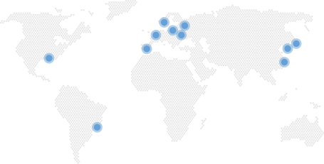 ActiGraph Resellers Map
