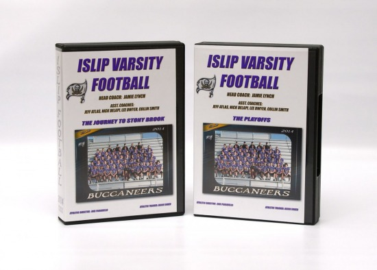 2014 Islip Football DVD set