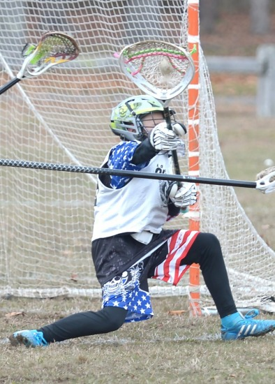 Outlaws vs West Islip Fall Brawl 2014