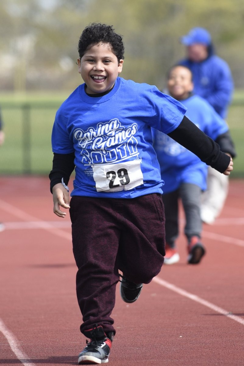 Special Olympics Spring Games South