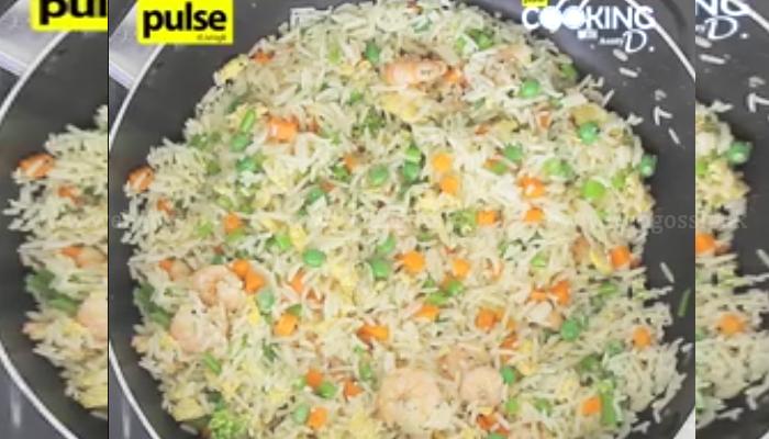 රසම රස ඉස්සෝ fried rice එකක් විනාඩි 5න් හදාගන්න.