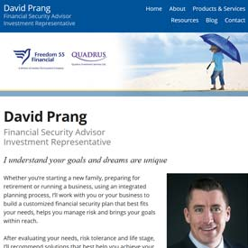 David Prang - Kitchener - Ontario  - Freedom 55 Financial