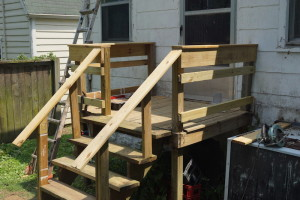 NEW, SAFE BACK DECK