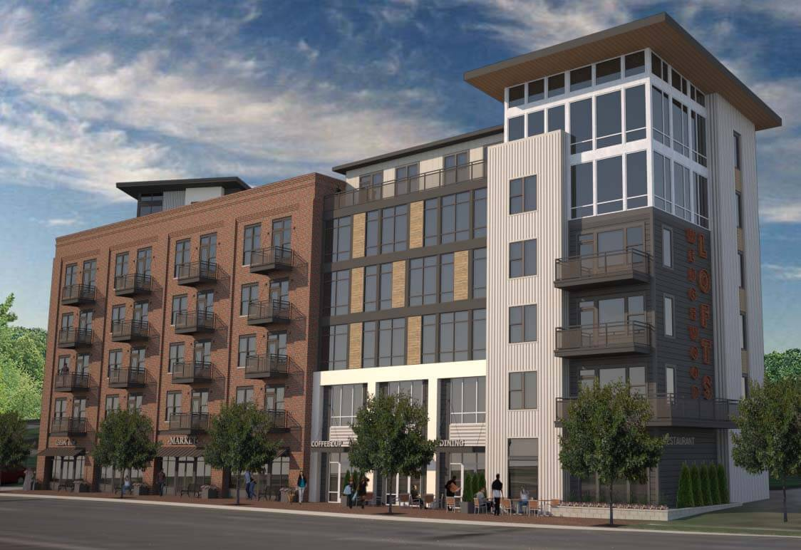 Wedgewood Lofts Rendering