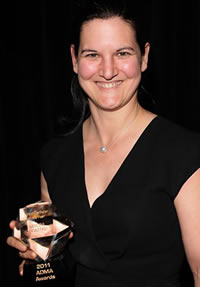 Courtesy of Getty Images: Australian Direct Marketer of the Year winner Sandra De Castro, CMO, NAB