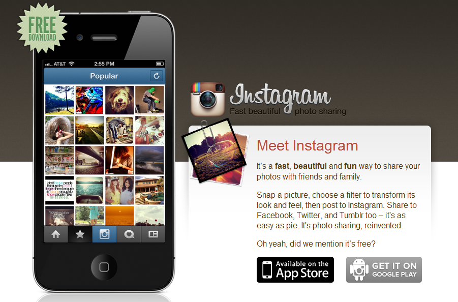 instagram for android and ios
