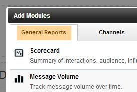 general reports tab
