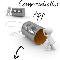 Communication App - cover