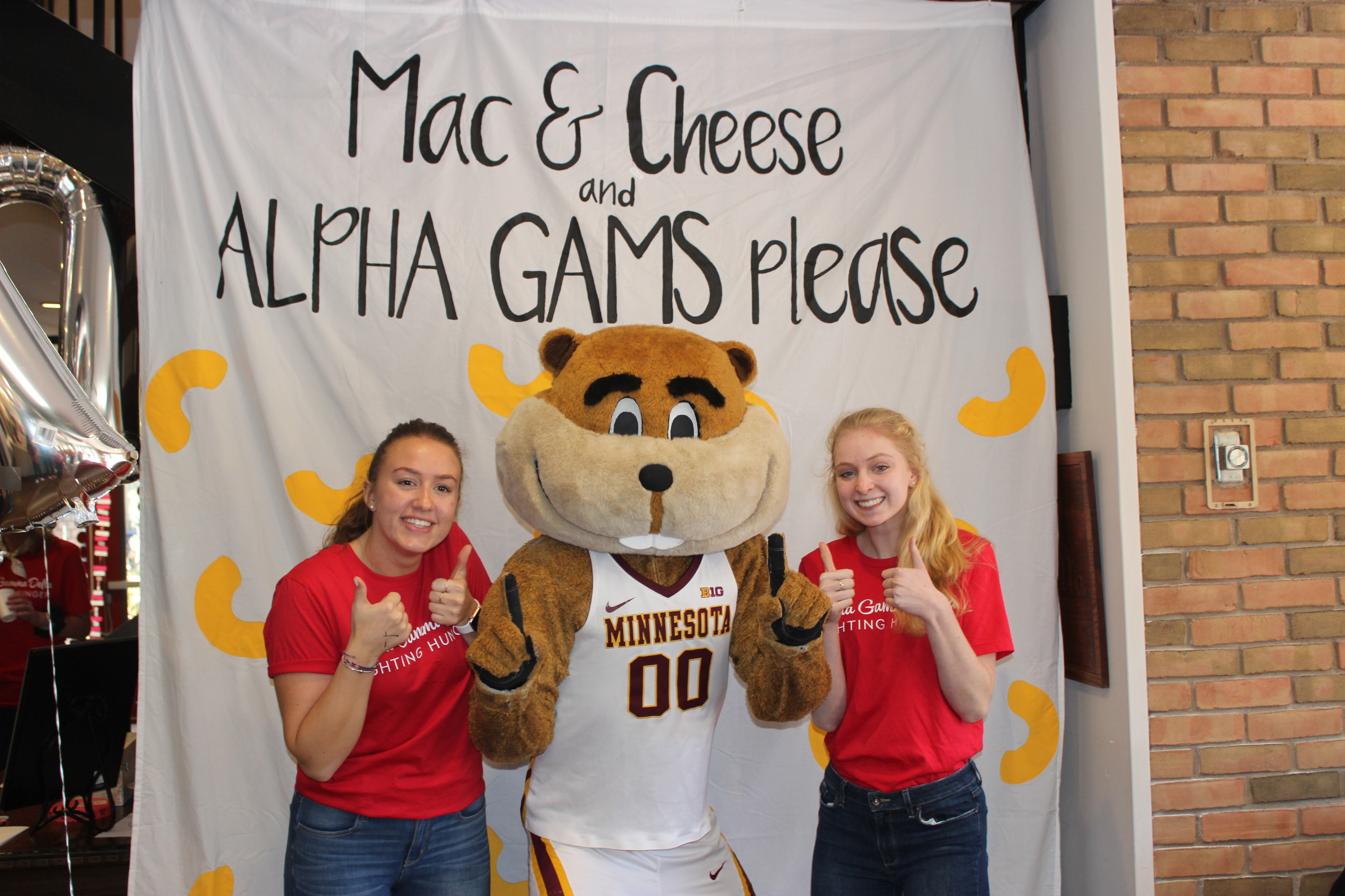 Alpha Gams Fight Back with Cheese & Mac! 2018