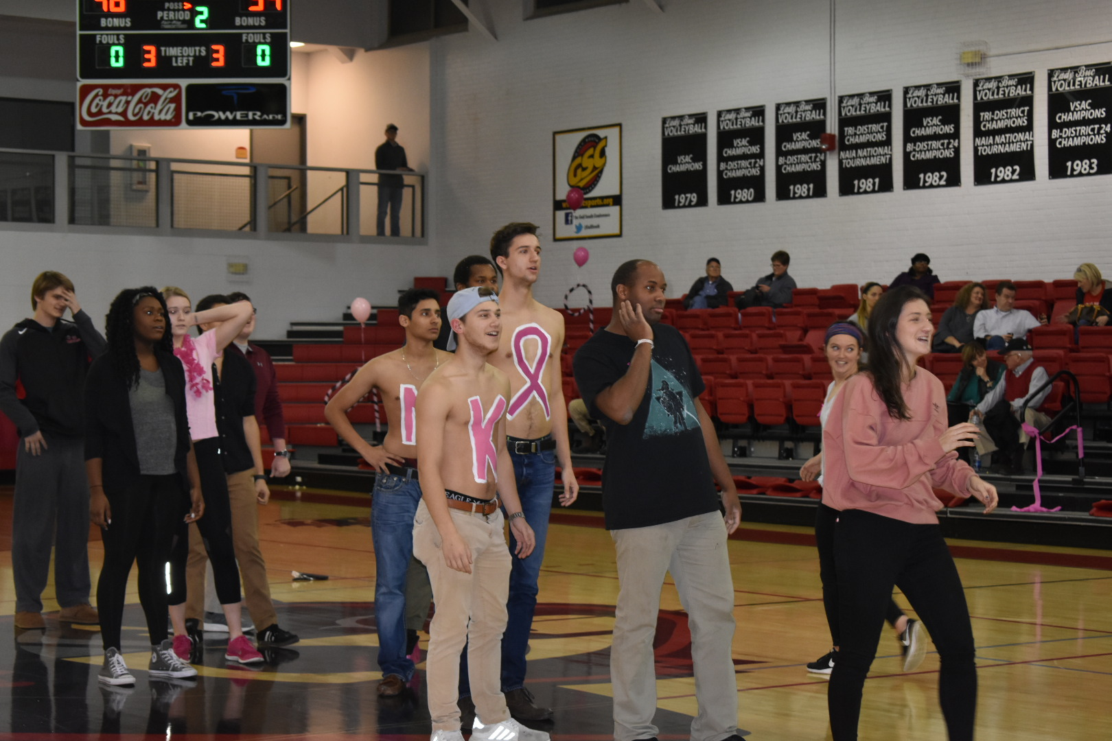 Pink Out Basketball Game 2018