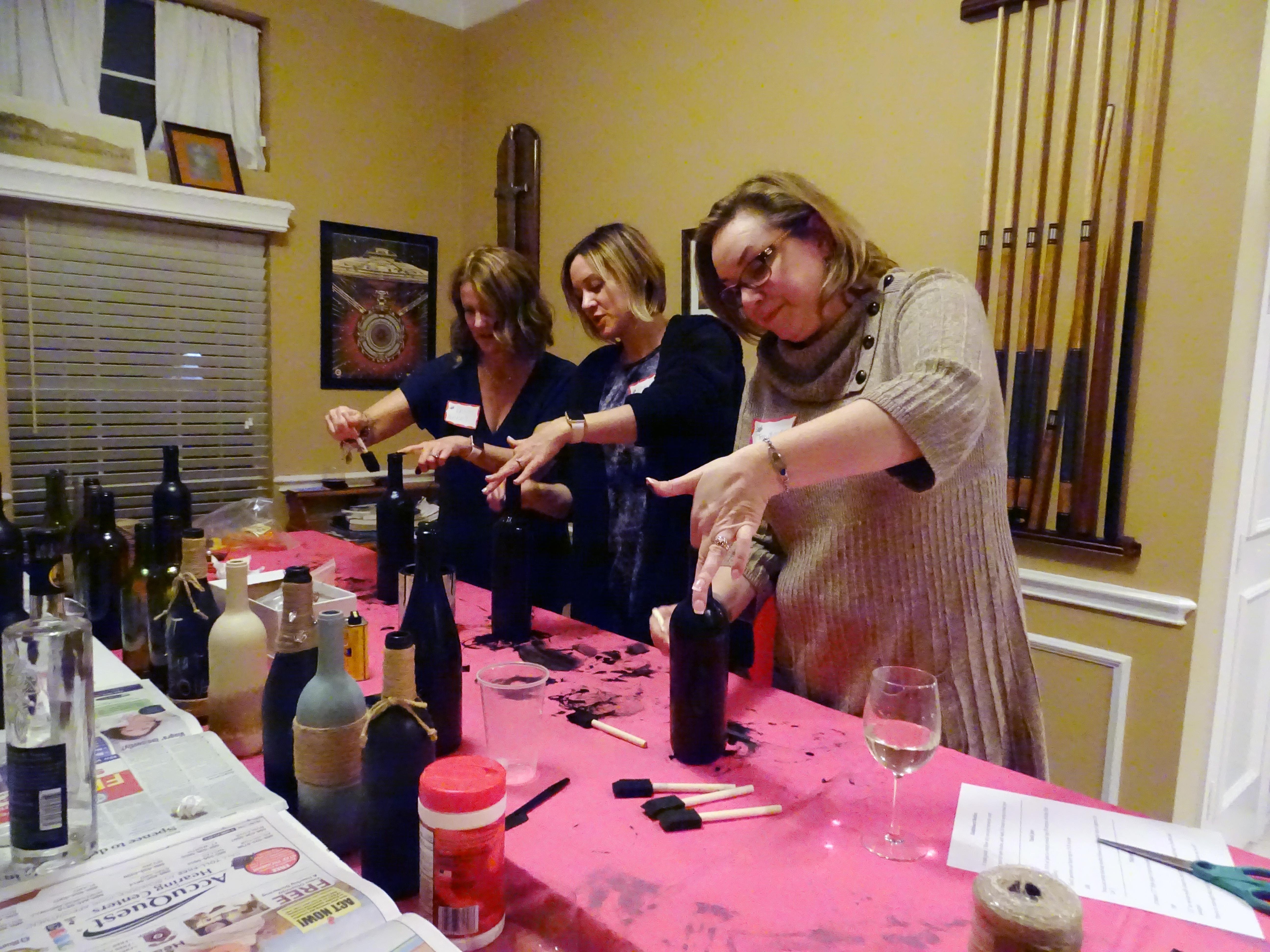 February Pinterest Party Photo's