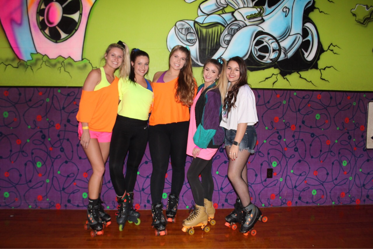 80s Skating Sisterhood