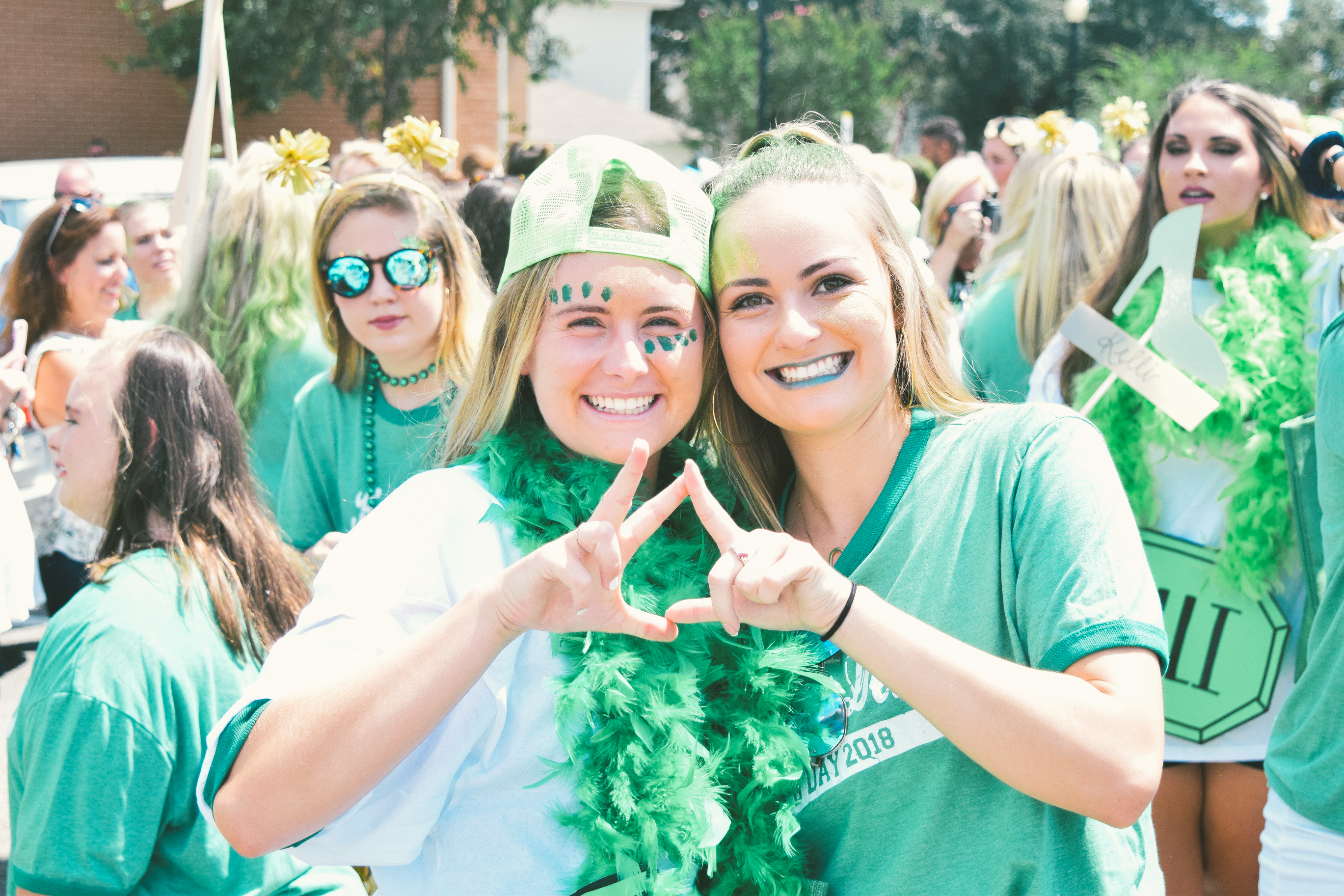 Bid Day 2018 - Emerald City