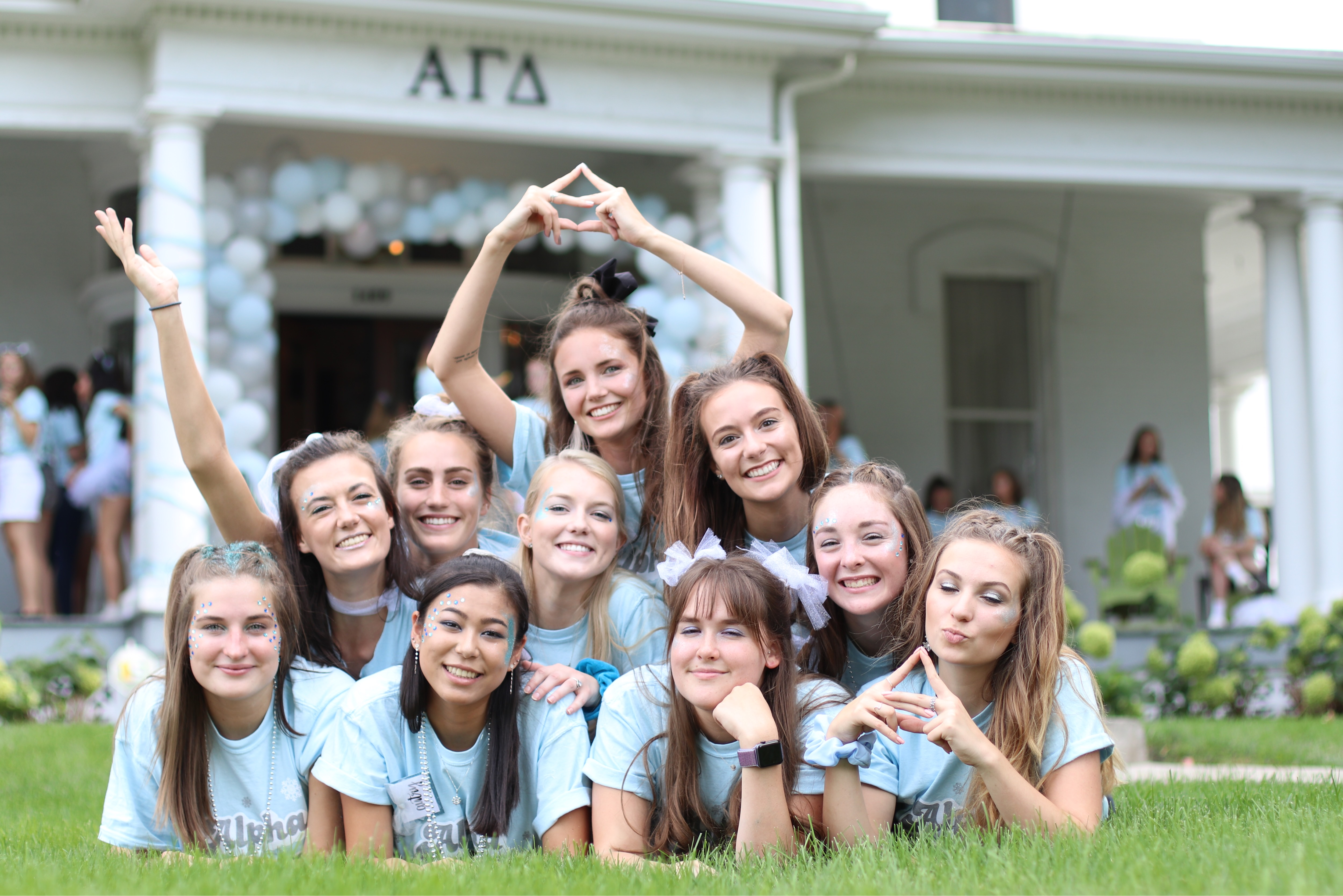 Snow Place Like AGD -- Bid Day 2019