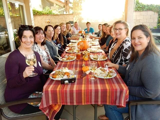 2018 Thanksgiving Sisterhood Potluck