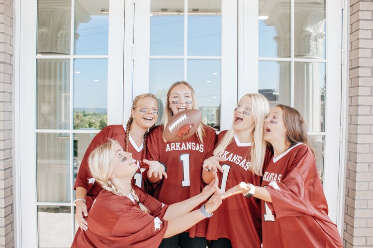Kappa Delta Loves the Hogs