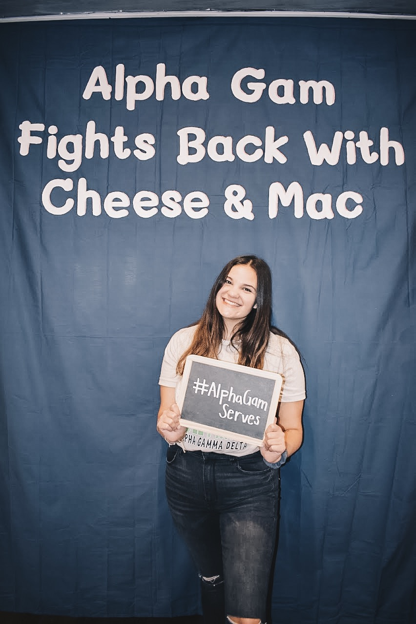 Alpha Gams Fight Back with Cheese & Mac! 2019