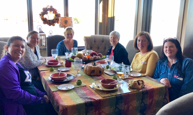 October, 2018 - Salad,Soup Lunch & Bingo for Foundation