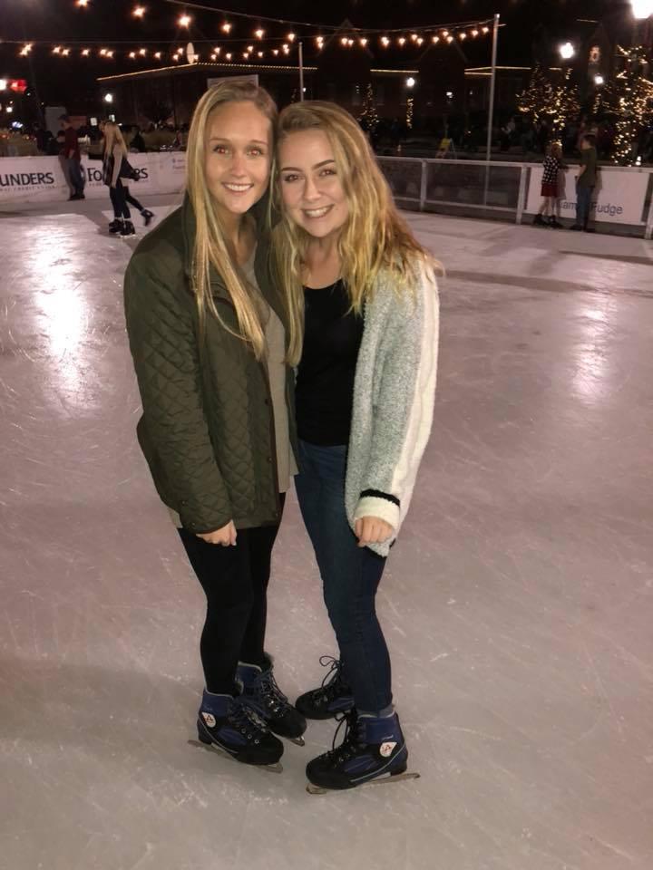 Ice Skating Sisterhood