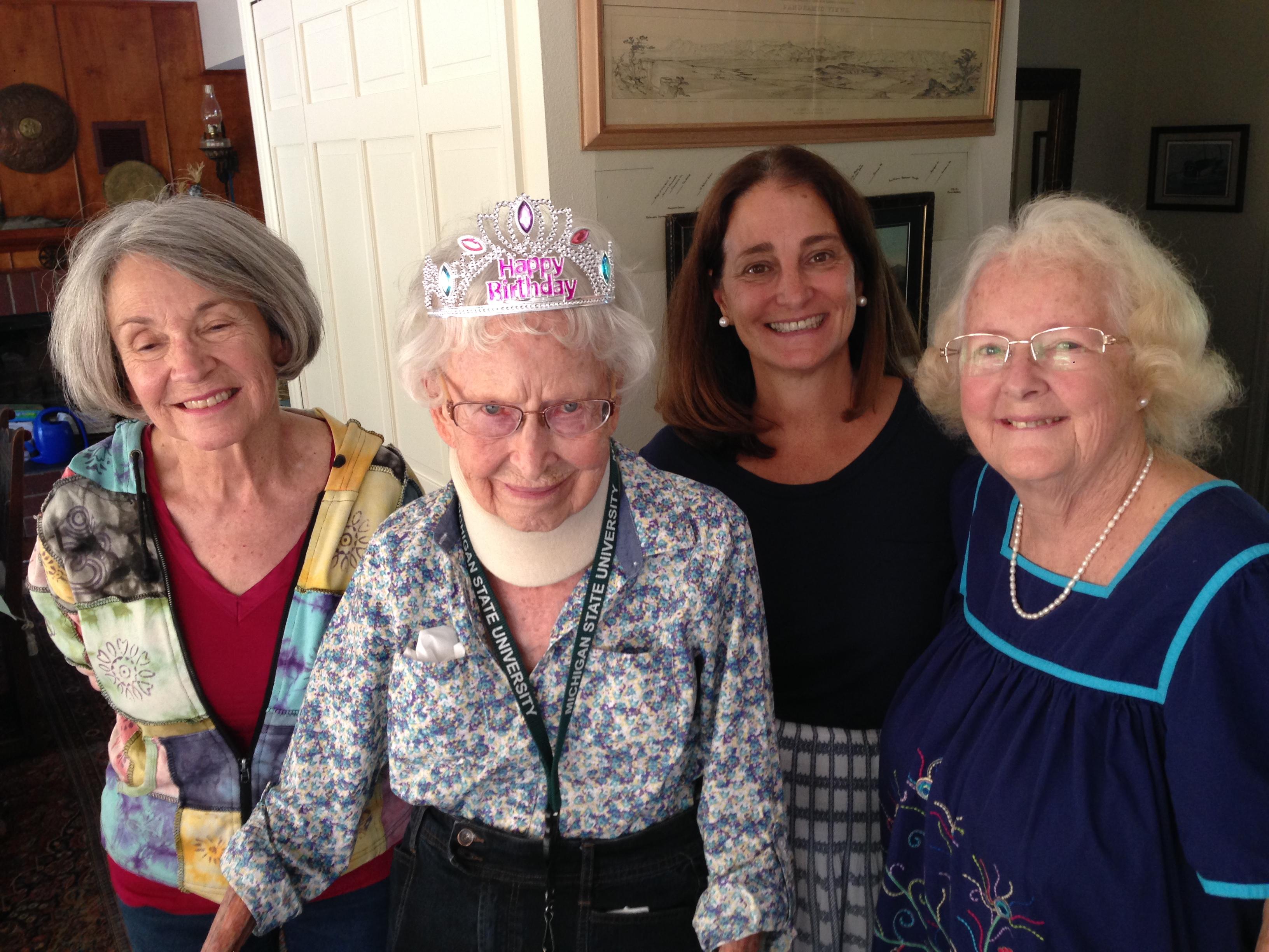 Nancy McCaffrey turns 101 years old!