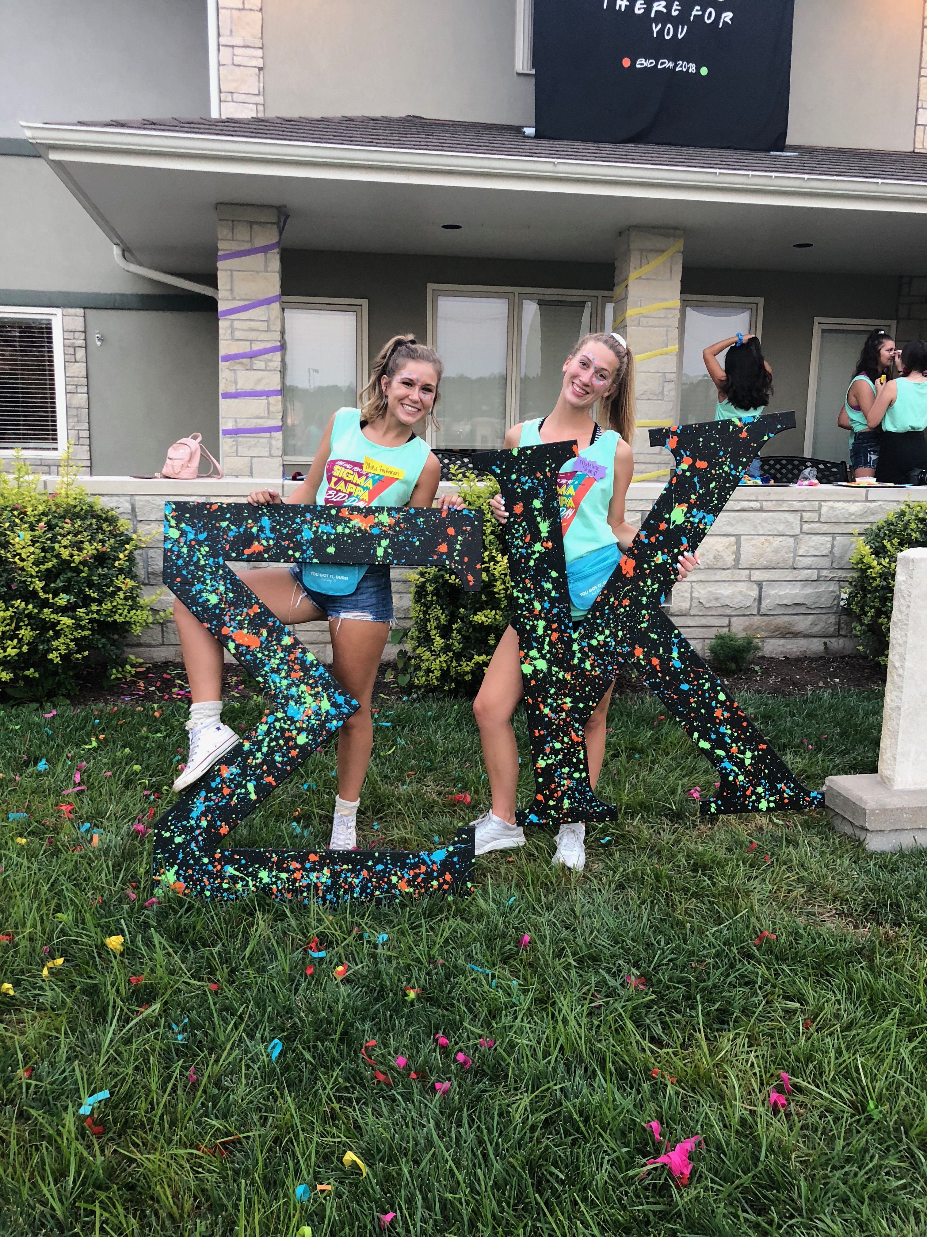 Recruitment and bid day 2018