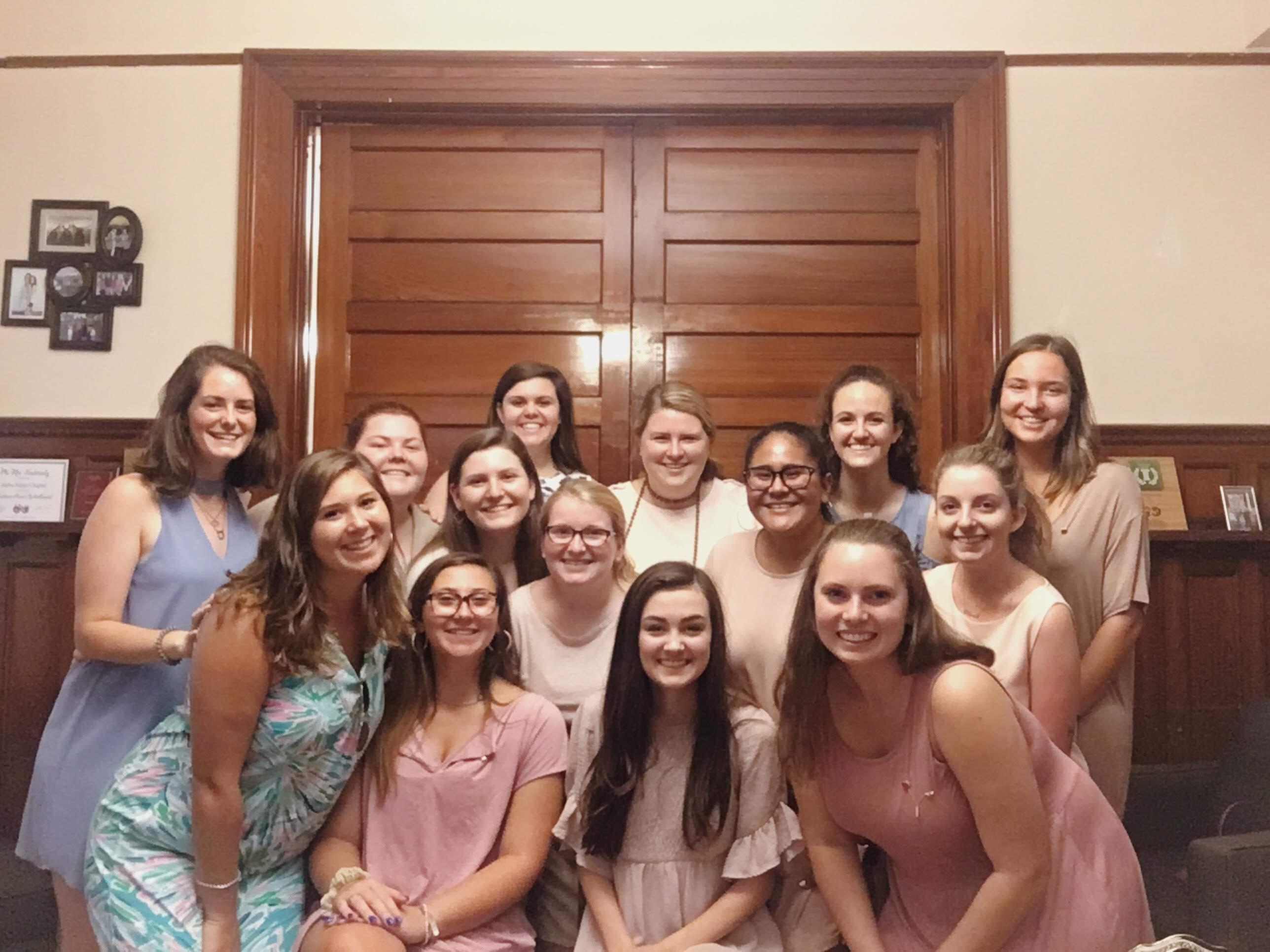 Fall 2018- Sisterhood and Events