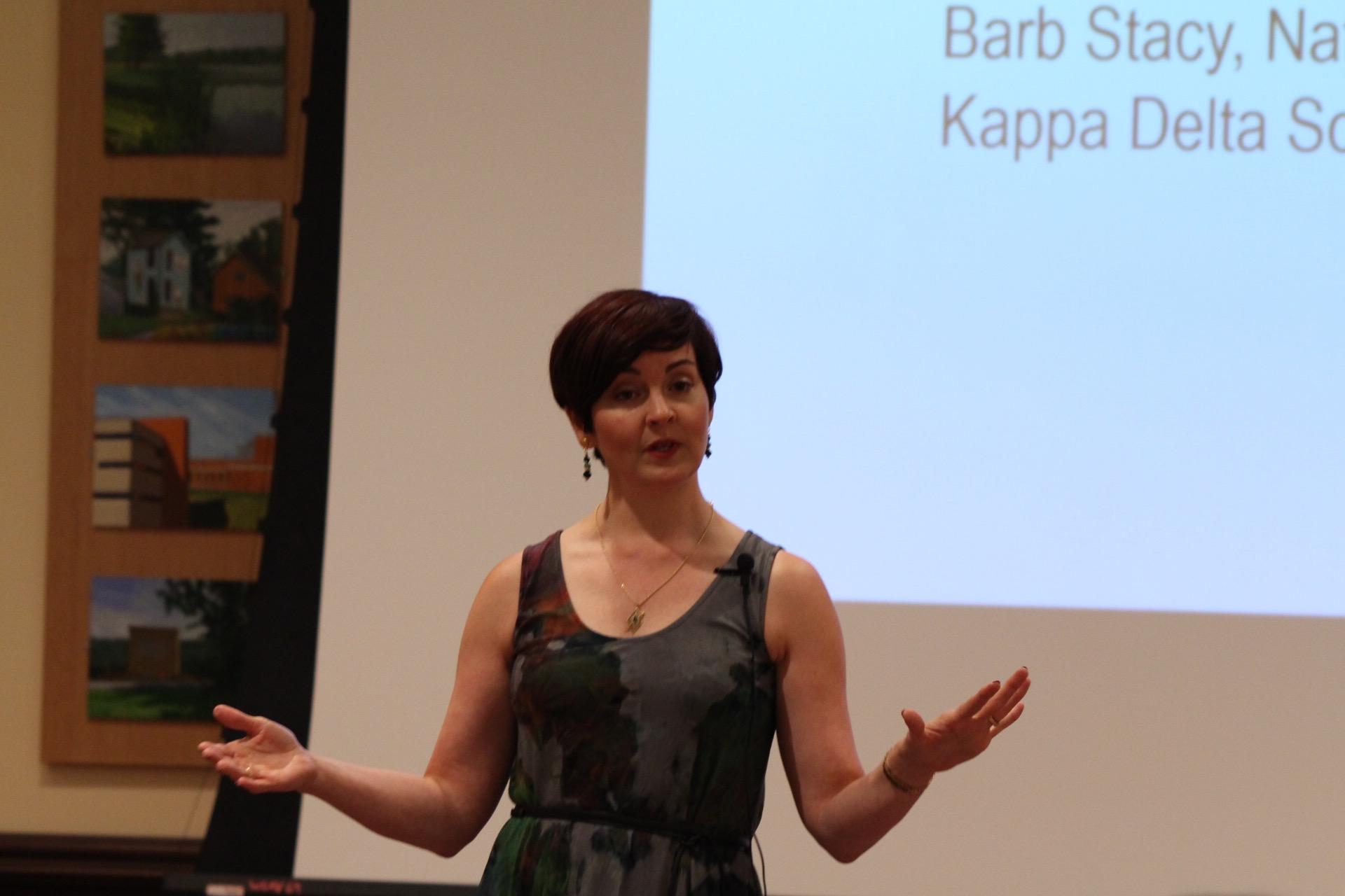 2017 Barb Stacy Visit/ Talk
