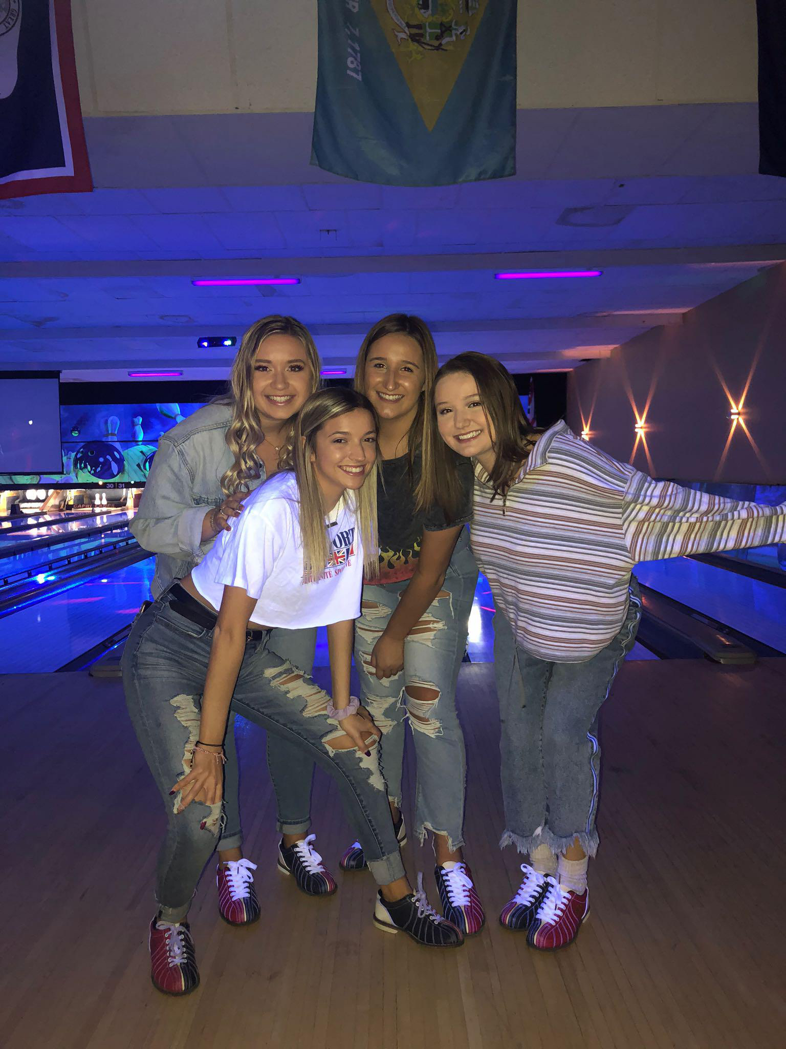 90s Bowling Date Party