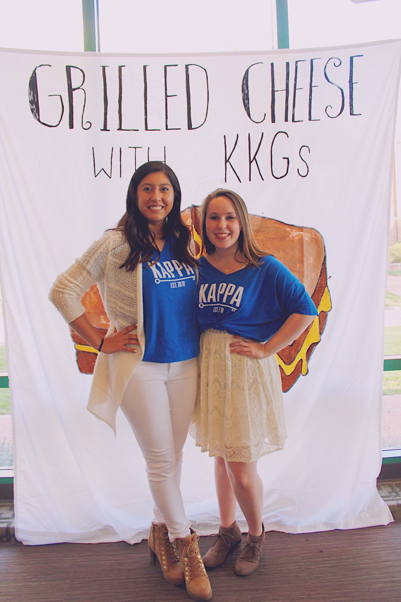 Grilled Cheese with KKG's | Spring 2018