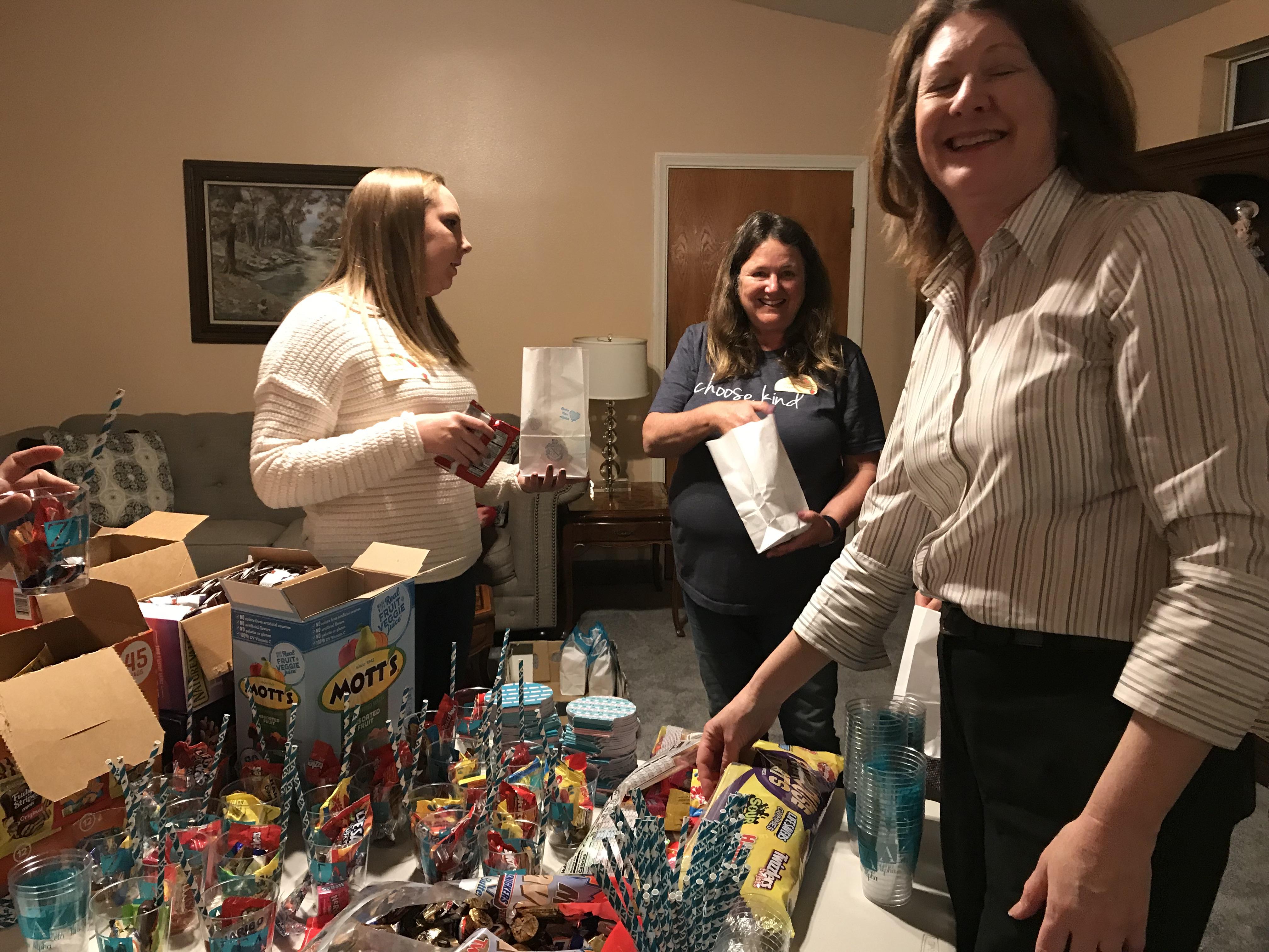 Taco Tuesday and Goodie Bags for Kappa Thetas (Feb 26, 2019)