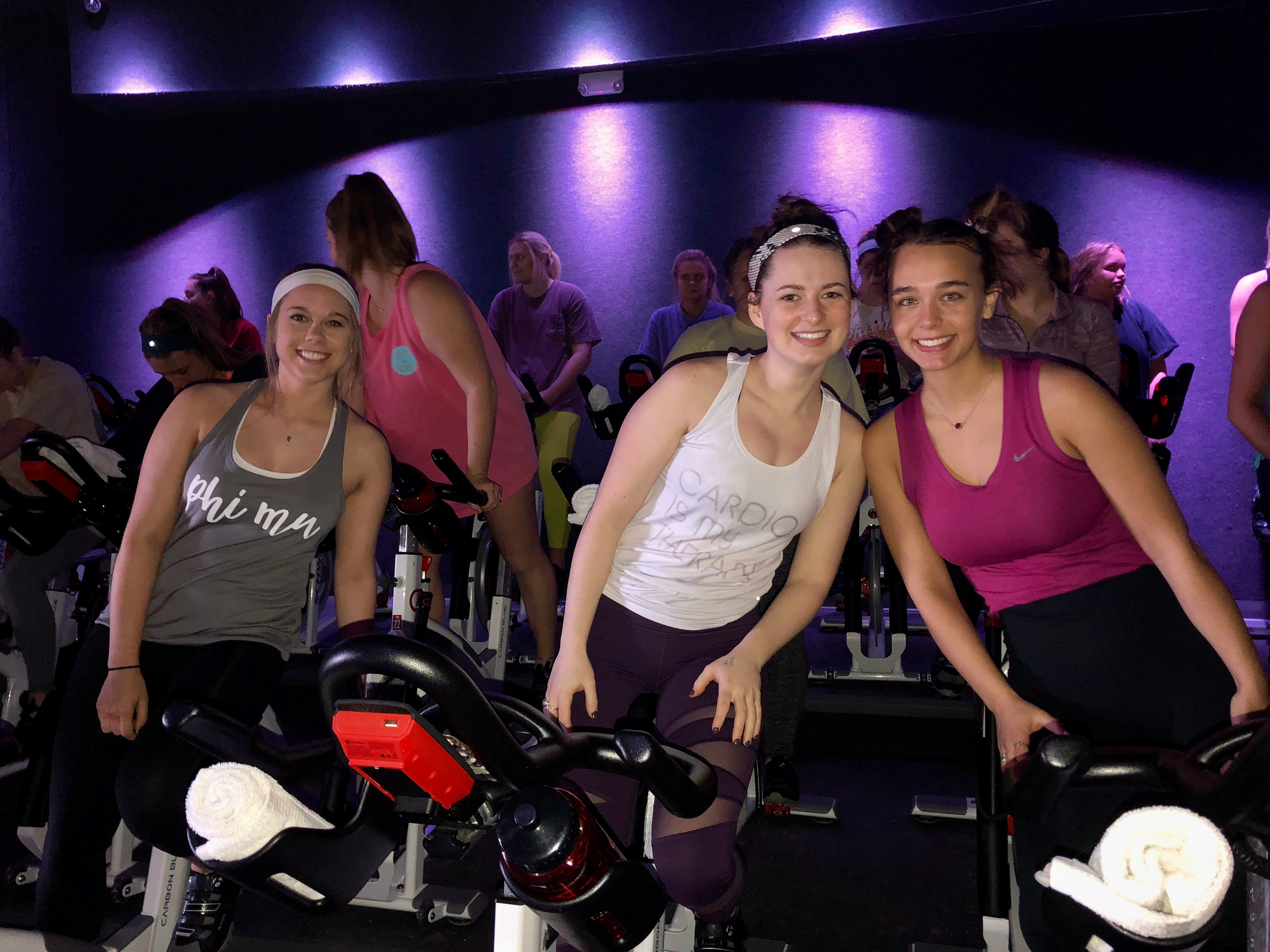 Sisterhood at Cyclebar!